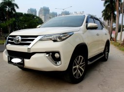 Jual Mobil Toyota Fortuner VRZ 2016 Putih di DKI Jakarta