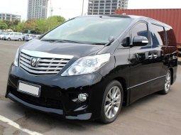 Dijual Mobil Toyota Alphard S Audio Less 2010 Hitam di DKI Jakarta
