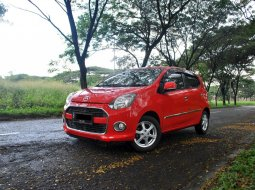 Jual Daihatsu Ayla 1.0 X AT 2017 Warna Merah Metalik di Tangerang