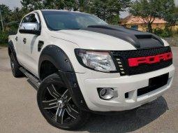 Jual mobil Ford Ranger Double Cabin 2015 Putih di Riau