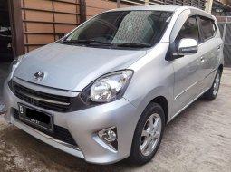 Toyota Agya G Manual MT 2016 Silver, Pajak 1 Thn, KM Rendah, PERFECT