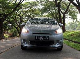 Jual Mobil Mitsubishi Mirage GLS 2015 Abu-abu di Tangerang