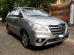 Dijual Cepat Toyota Kijang Innova 2.0 G 2015 Silver di DKI Jakarta