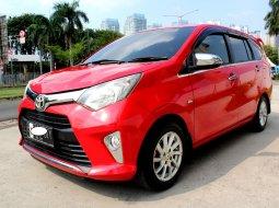 Jual Cepat Toyota Calya G AT 2017 Merah di DKI Jakarta