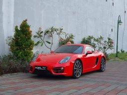 Porsche Cayman 2013 Merah