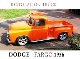 DODGE Fargo Pickup 1956 (Restoration)