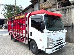 Jual Isuzu Elf Engkel LONG NLR55TLX Bak Sentral Kayu 2018 29rb KM + Ban BARU,MURAH CDE LONG di DKI Jakarta