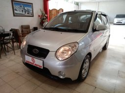 Kia New PIcanto SE AT 2010 Silver Km Rendah Antik Murah