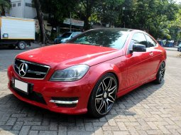 Mercedes-Benz C-Class C250 AMG Coupe 2012 Merah