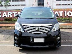 Toyota Alphard S Audio Less 2010 Hitam