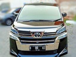 Toyota Vellfire G ATPM 2.4 Matic 2018 Hitam,