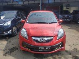 Jual mobil bekas murah Honda Brio E 2015 di Jawa Barat