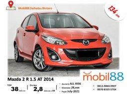 TDP Ringan!!! Mazda 2 R 1.5 AT 2014 BERGARANSI