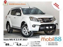 TDP Ringan!!! Isuzu MU-X 2.5 Diesel Matic 2017 BERGARANSI