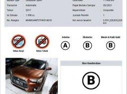 Jual Mitsubishi Outlander Sport PX 2017 harga murah di DKI Jakarta