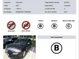 Mobil Mazda 3 2007 dijual, Banten