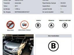 DKI Jakarta, Toyota Kijang Innova 2.0 G 2011 kondisi terawat