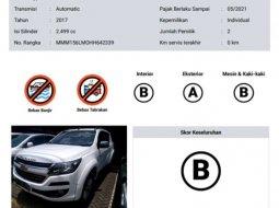 Jual Chevrolet Trailblazer LTZ 2017 harga murah di DKI Jakarta