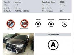 Banten, Lexus RX 200T 2016 kondisi terawat