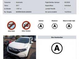 Mobil Honda CR-V 2017 2.0 terbaik di DKI Jakarta