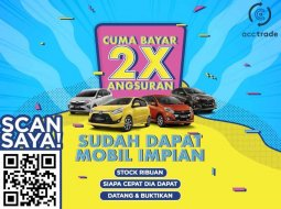 DKI Jakarta, Toyota Agya G 2019 kondisi terawat
