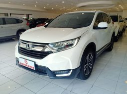 Honda New CR-V 1.5 Turbo Prestige CVT AT 2018 Putih CRV Km Rendah Antik