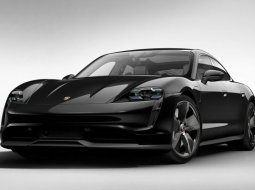 Brand New 2021 Porsche Taycan 4S Jet Black Metallic on Black