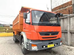21000KM ANTIK+BanBARU,MURAH Mitsubishi Fuso Tronton 6x4 Dumptruck 2015