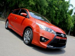 Toyota Yaris S TRD 2015 Orange