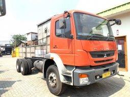 21000KM ,MURAH+BanBARU,Mitsubishi Fuso 2015 Tronton 6x4 Sasis +Dump 528