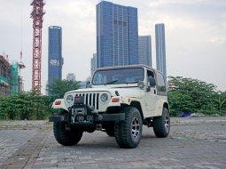 1980 Jeep CJ 7 4.2 MT Mesin Ganti Ford Ranger Diesel Putih Surabaya