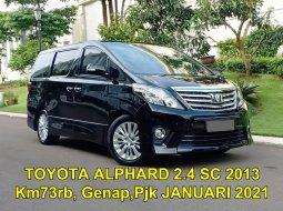 Toyota Alphard 2.4 NA 2012 Hitam