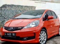 Honda Jazz RS Matic Tahun 2013 Orange, Km Rendah