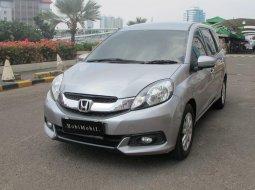 Dijual cepat mobil Honda Mobilio E 2014 Silver, DKI Jakarta