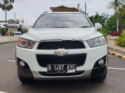 Jual Chevrolet Captiva Pearl White 2013 harga murah di DKI Jakarta