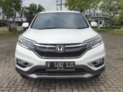 Honda CR-V 2.0 AT 2017 White On Beige Mulus Terawat TDP 30Jt