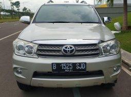 Jual Toyota Fortuner G 2011 harga murah di Banten