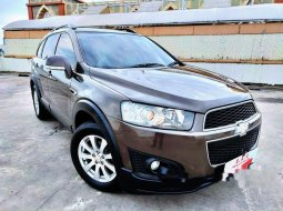 Mobil Chevrolet Captiva 2014 Pearl White dijual, DKI Jakarta