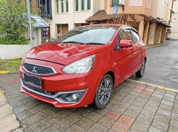 Mitsubishi Mirage EXCEED 2016 KM 29rb Pajak 09-2021 Siap TT Jazz RS Yaris TRD Swift Mazda 2