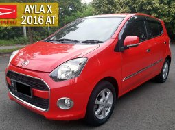 Daihatsu Ayla X Automatic 2016 DP13 KM Rendah