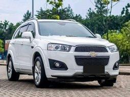 Jual mobil bekas murah Chevrolet Captiva Pearl White 2015 di Banten