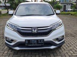 Honda CR-V 2.0 AT 2017 White On Beige Siap Pakai Terawat TDP Paket 30Jt