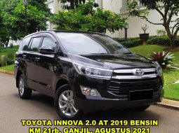 Toyota Kijang Innova V A/T Gasoline Hitam