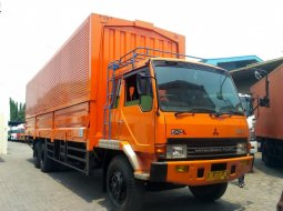 51000KM MURAH+BanBARU,Fuso Tronton 6x2 FN517ML2 SUPERLONG Wingbox 2018