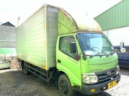 40ribuKM bulan11,Hino Dutro 130MDL box alumunium 2014 cdd long 130 MDL
