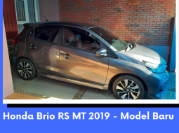 Honda Brio RS MT 2019 - Model Baru - Perfect Condition