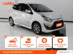 Toyota Agya 1.2 G TRD Sportivo MT 2018 Silver