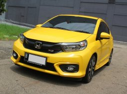 Honda Brio Rs 1.2 Automatic 2019 Kuning pemakaian 2020