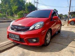 Honda Brio Satya E Merah 2018 AT Termurah di Bogor