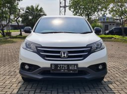 Honda CR-V 2.4 2012 White On Beige Low KM Service Record TDP Paket 35Jt